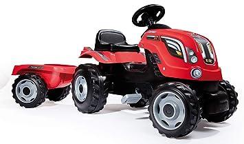 Amazon.com: Smoby Tractor Farmer XL rojo: Toys & Games