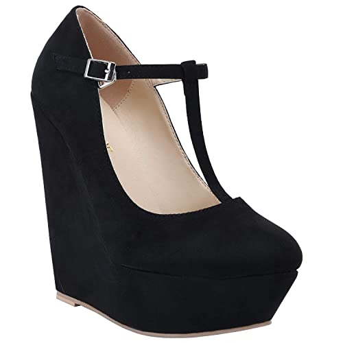 Buy MISS SHOE Black High Heels for