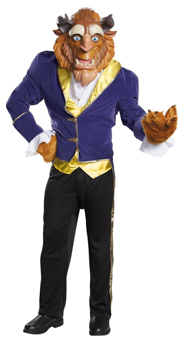 Disney Disguise Men's Beauty and The Beast Ultra Prestige Costume, Blue, X-Large