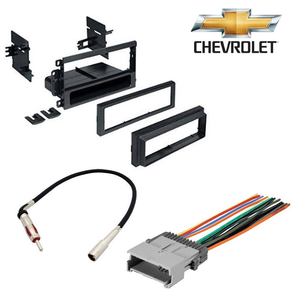 Chevrolet 2003 2006 Silverado 1500 Car Stereo Cd Chevy Xm Radio Wiring Harness Color Code Player Dash Install Mounting Kit Wire Antenna Electronics