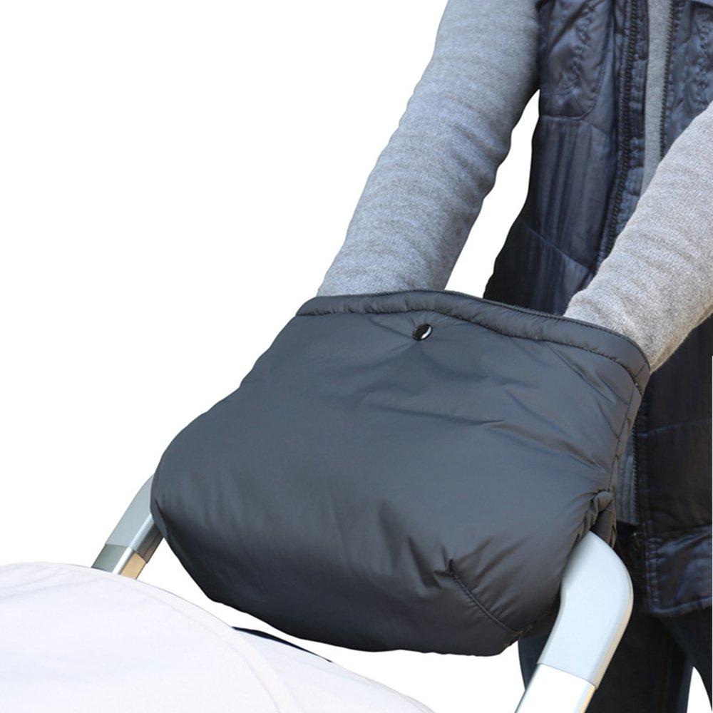Guantes de Silla de Paseo, Manoplas Guantes de Forro Polar Impermeable, Invierno Protege Manos Guantes Caliente Jaetech Limited