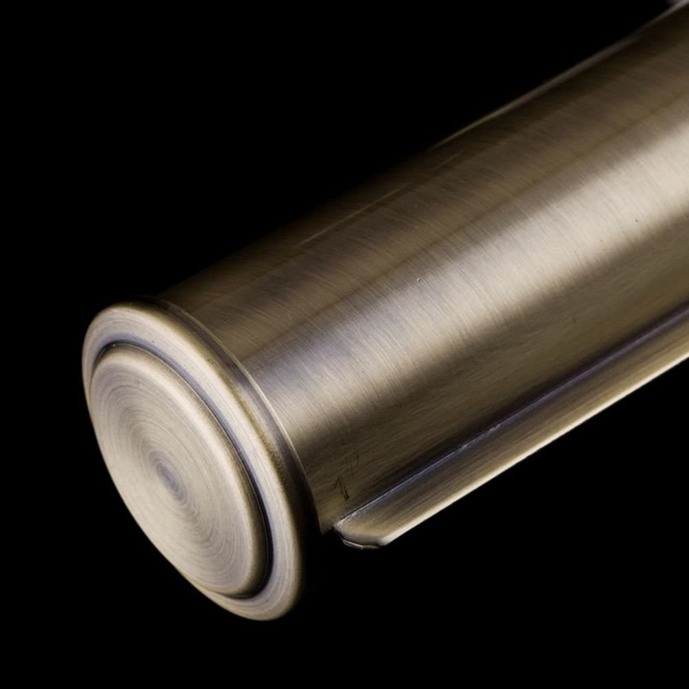 2-flammig exkl.E14 2x 25W 220V mattes Metall Messing Farbe Klassische antike schlichte Wandleuchte f/ür Bilder verstellbares Licht