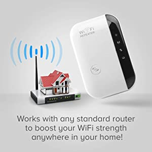 Super Boost WiFi Booster Boost WiFi Signal, Range Extender, Repeater, Access Point