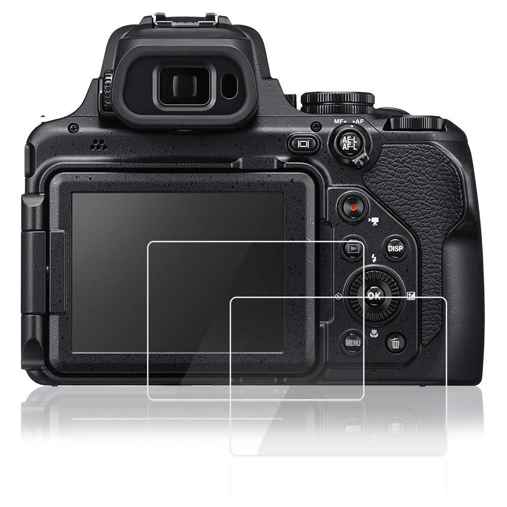 Conrad-5 Screen Protector Foils Compatible Nikon P1000 Digital Camera,Tempered Glass Anti-Scratch High Transparency Protective Films