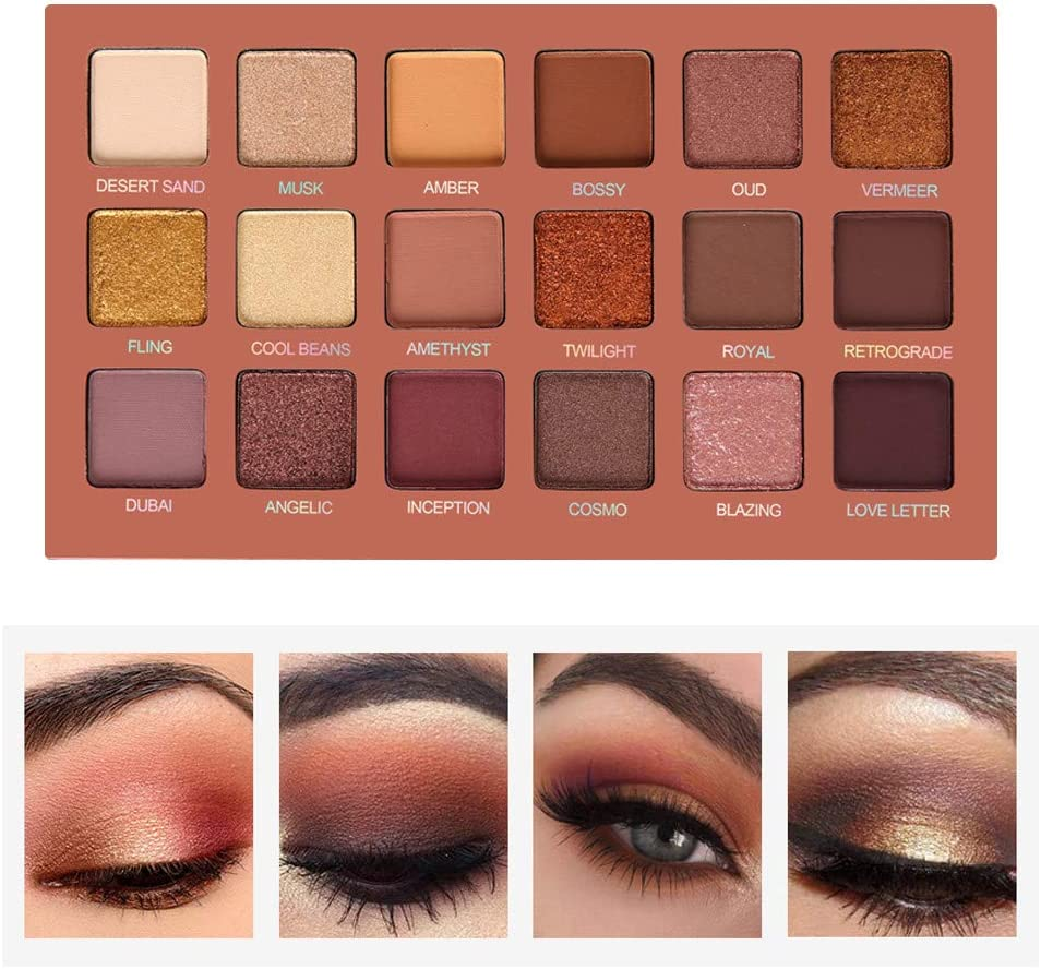 matte neutral eyeshadow palette
