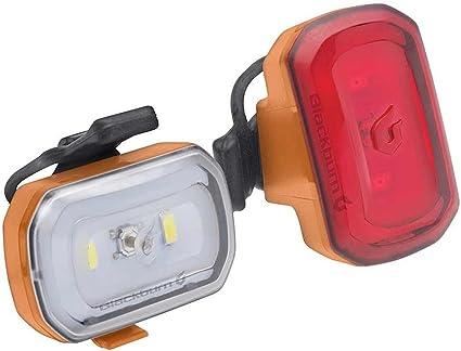 Blackburn Click Combo Front and Rear Bike Light Set LED Flashing Safety