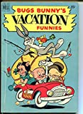 BUGS BUNNY VACATION FUNNIES #1-DELL-GOLDEN AGE VG/FN