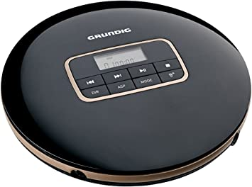 Grundig Gcdp 8000 Gdr1405 Tragbarer Cd Player Schwarz Heimkino Tv Video
