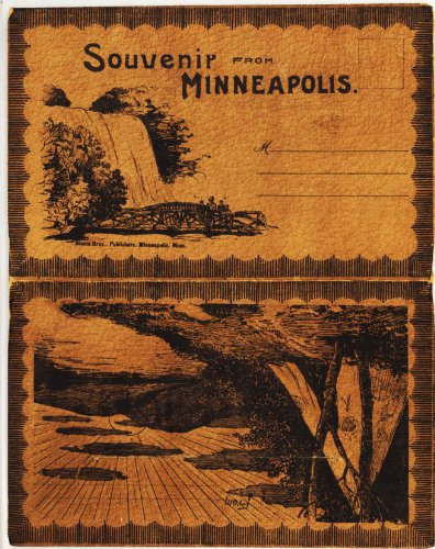 Postcard Teepee (Minneapolis Minnesota