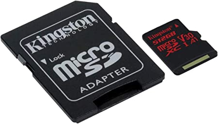 Professional Kingston 512GB for Eten X610 MicroSDXC Card Custom Verified by SanFlash. 80MBs Works with Kingston