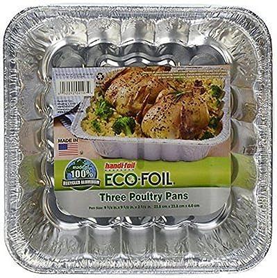 Handi Foil Poultry Pans, 3 ct