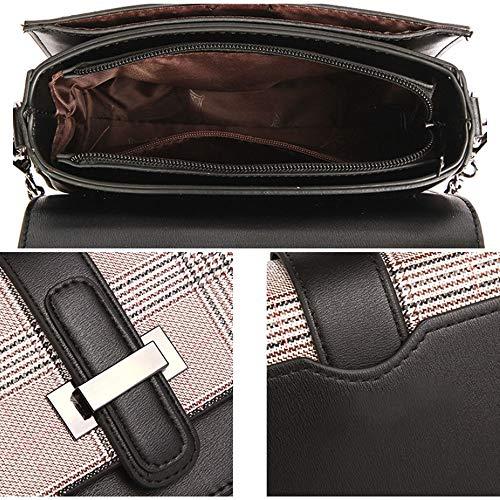 Di Della Tendenza Semplice Catena Borsa Coreana Selvaggio Moda C Messenger Versione Quadrata E Backpack color Piccola B wf0HXX