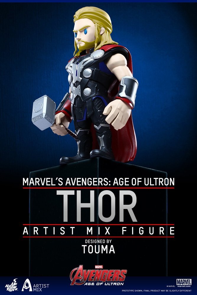 Hot Toys Thor Avengers Age of Ultron Series 2 Figure Sideshow SS902409
