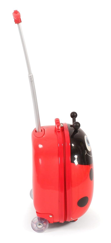 20 liters Bayer Chic 2000 Bouncie Kinder-Trolley mit 3D-Marienk/äfer-Motiv Bagage Enfant 40 cm Rot Rouge