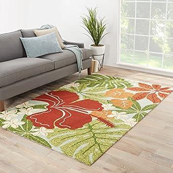 Amazon Com Jaipur Living Luau Indoor Outdoor Floral