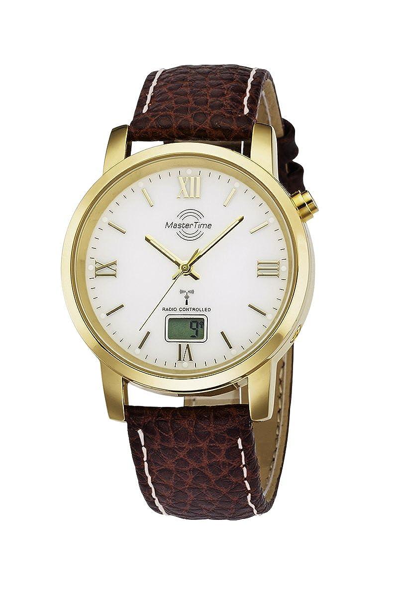 Reloj Master time trenkenchu Basic Series reloj de pulsera para hombre MTGA-10298-13L durante mucho tiempo batería de radio reloj de pulsera para hombre