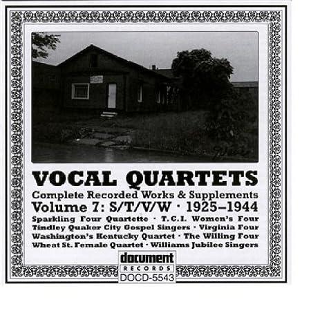 Vocal Quartets 7