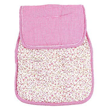 Small Pink Flowers Pushchairs Seat Liners Minene Reversible Pushchair Liner