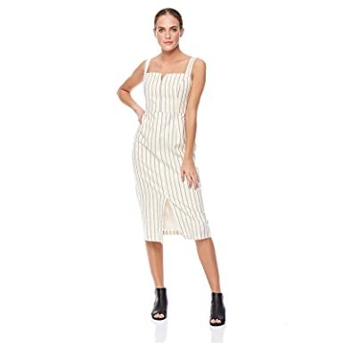 e33ba2657 Trendyol Straight Dress for Women - White, Size M: Amazon.ae