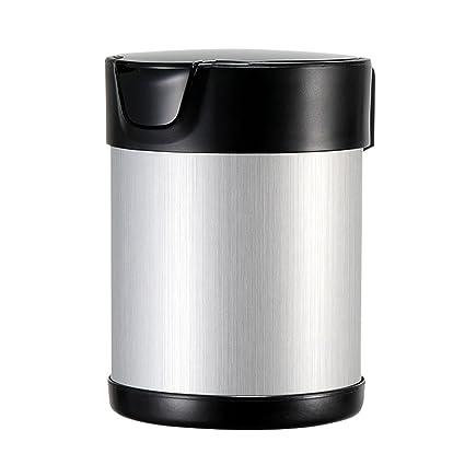 DONG Cenicero Creative Home Use Multifuncional Portable Extraíble Cenicero del Coche (9.3 * 6.8cm
