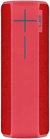 Ultimate Ears Boom 2 Tragbarer Bluetooth Lautsprecher 360 Sound Wasserdicht Und Stoßfest App Navigation Kann Mit Weiteren Lautsprechern Verbunden Werden 15 Stunden Akkulaufzeit Pink Rot Audio Hifi