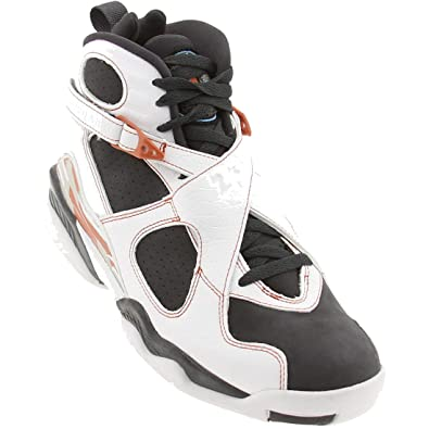 cc506e59a2d77d ... promo code for nike air jordan mens retro 8 ls white anthracite dark  orange 0f850 49b5b