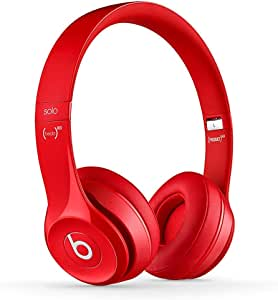 Beats Solo 2 Wireless On-Ear Headphone - Red (Renewed)