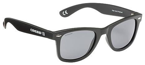 Cressi Occhiali da Sole di Alta Qualità Lenti con Filtro Solare Antiriflesso e Protezione 100% Raggi UV - Tortuga - Rosso/Grigio yDIxqBUODo
