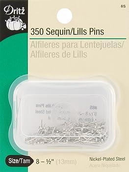 Dritz Sequin/Lills Quilting Pins