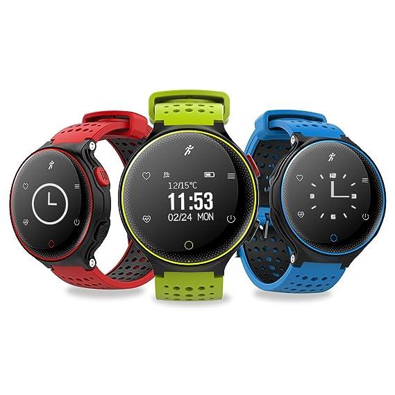 Amazon.com: HSW HR Fitness Activity Tracker Heart Rate ...