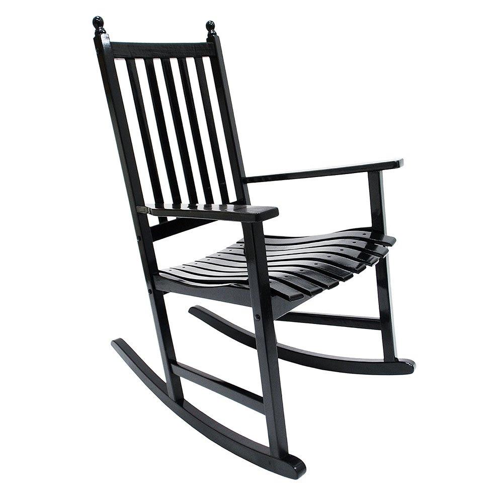 Black outdoor rocking chairs - Amazon Com Achla Designs Eucalyptus Rocker White Patio Rocking Chairs Patio Lawn Garden