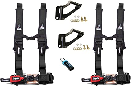 Dragonfire Racing Polaris RZR xp 1000 Kit – arnés ancla/2 negro h ...