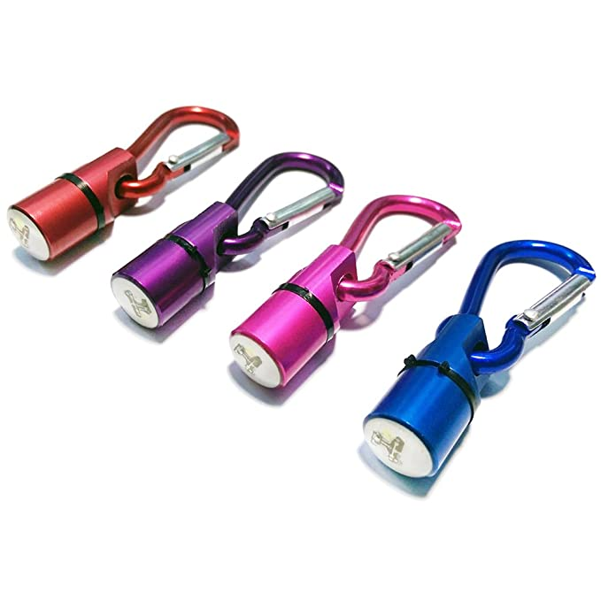 com-four® Juego de 4 Colgantes LED parpadeantes para la lámpara de ...