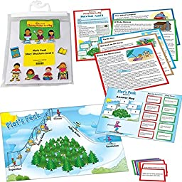 Plot\'s Peak Story Structure Reading Game Grades 4-5