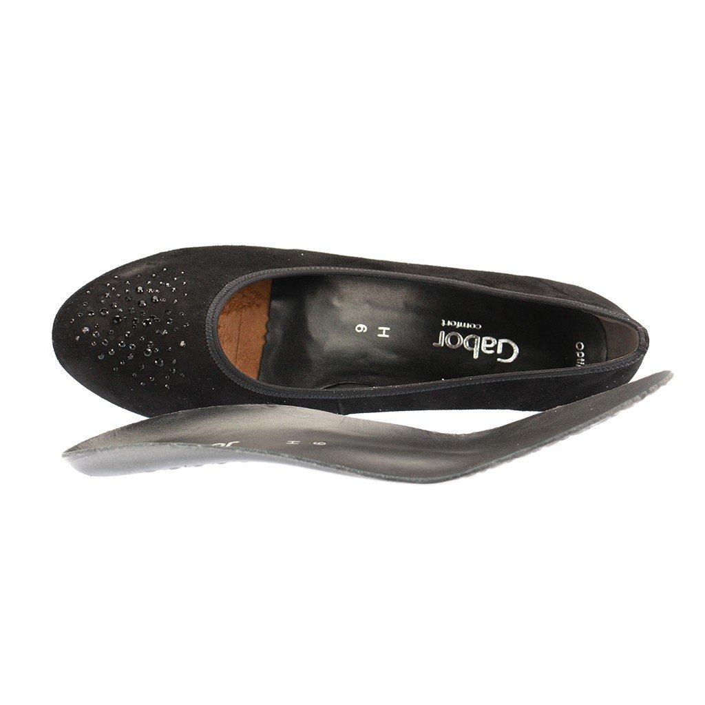 Gabor Comfort - Damen Damen Damen Pumps - Schwarz Schuhe in Übergrößen ca916e