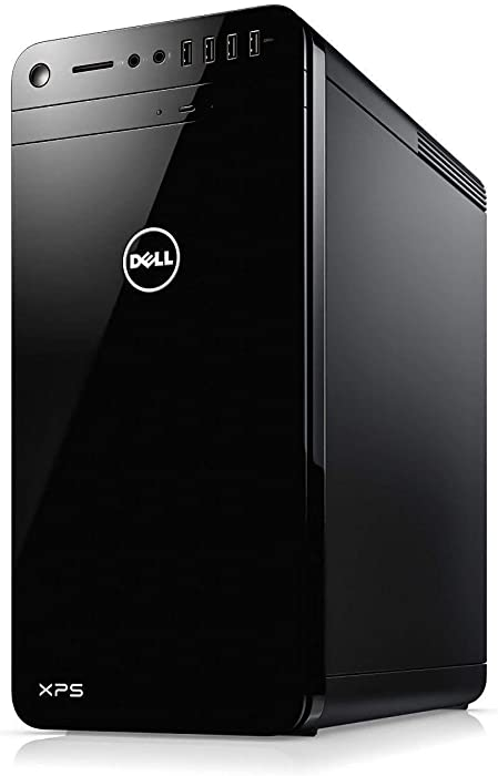 Dell XPS 8930 Desktop PC - Intel Core i7-8700 3.2GHz, 16GB, 2TB HDD, GeForce GTX 1050Ti 4GB Graphics, DVDRW, Bluetooth, Windows 10 Home (Renewed)
