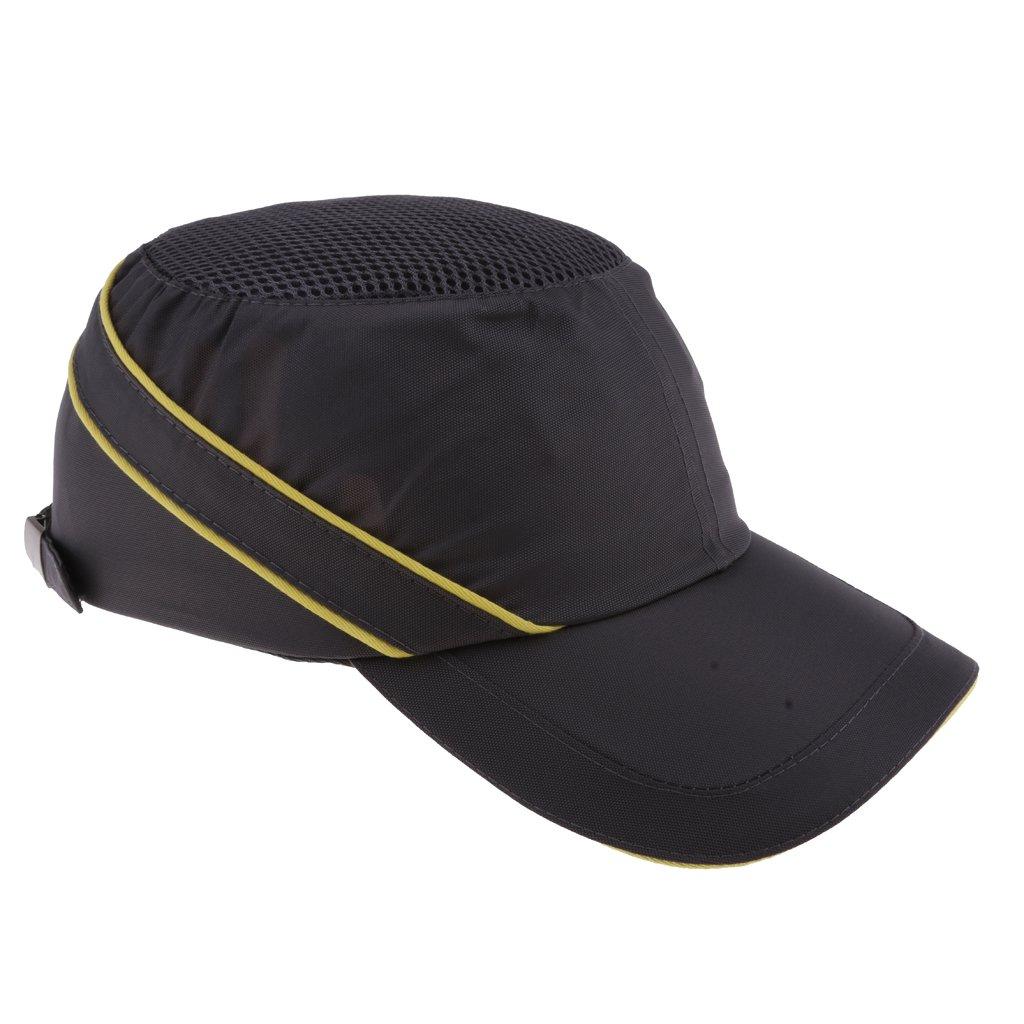 Homyl Gray Safety Baseball Helmet Bump Hard Hat Light Weight Head-protection