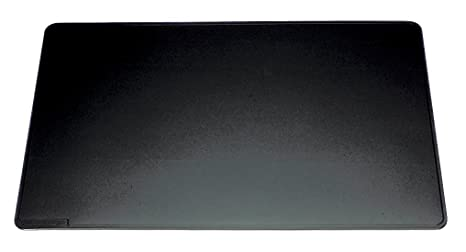 e9f4ef159a2f53 Durable - Sous-main avec rainures dessous en mousse antidérapant - 65x52 cm  - Noir