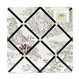 Sweet Jojo Designs Black French Toile Fabric Memory/Memo Photo Bulletin Board