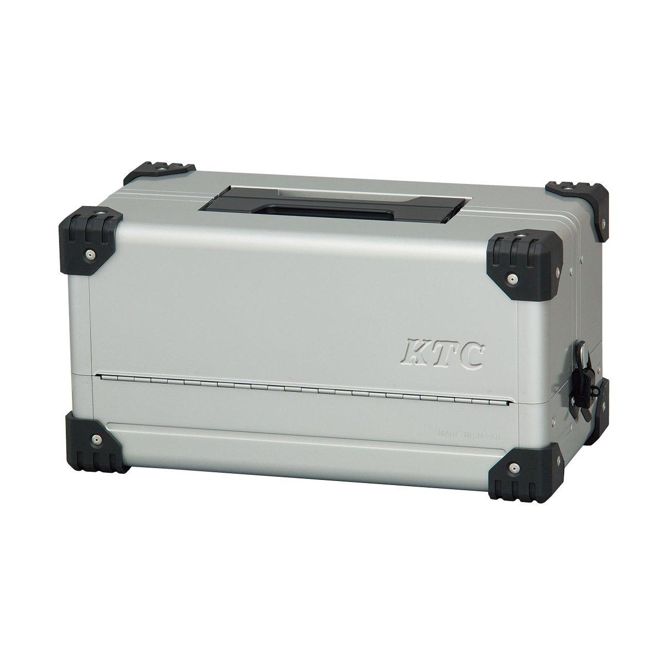 KTC 両開きメタルケース メタリックシルバー EK-10A B00ZHILEVE メタリックシルバー