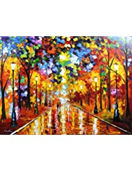 Farewell to Anger is a ONE-OF-A-KIND, ORIGINAL OIL PAINTING ON CANVAS by Leonid AFREMOV …