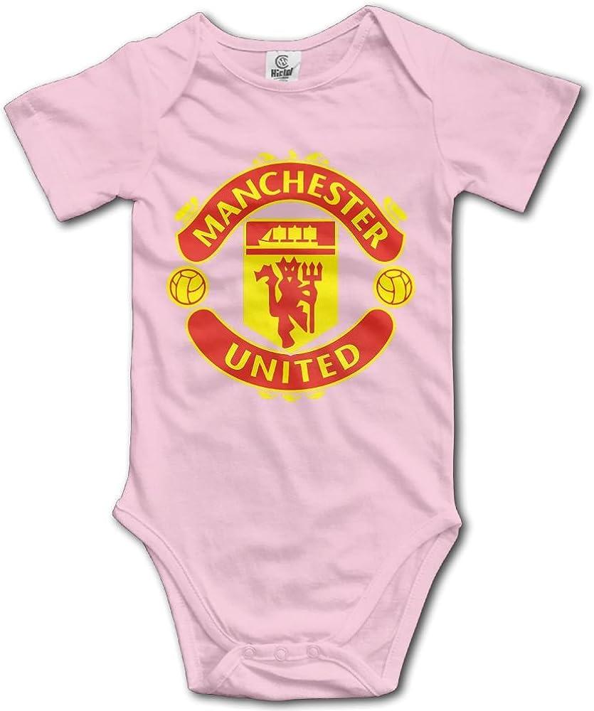 Manchester United Soccer Bodysuit Baby Baby Onesie