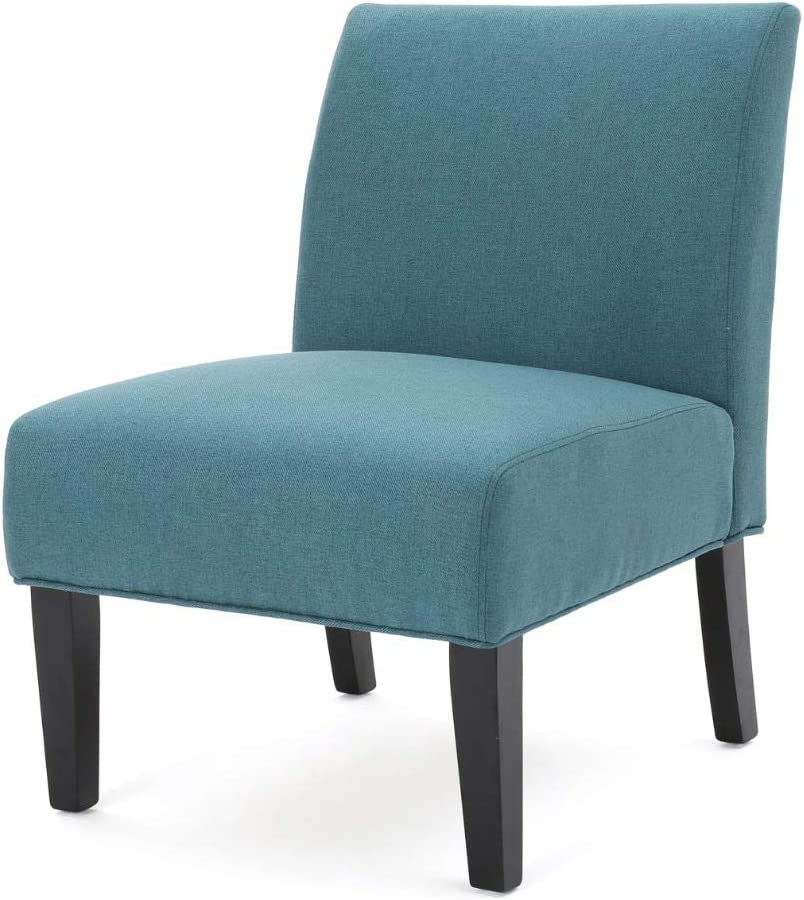 Christopher Knight Home Kassi Fabric Accent Chair, Dark Teal