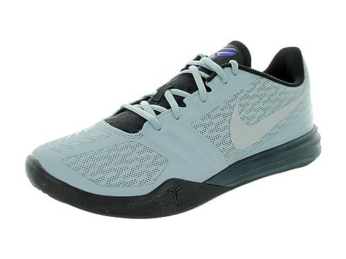 2564d2e776f6 Nike Men s Kb Mentality Dv Gry Flt Slvr Blk Clssc Chrc Basketball Shoe