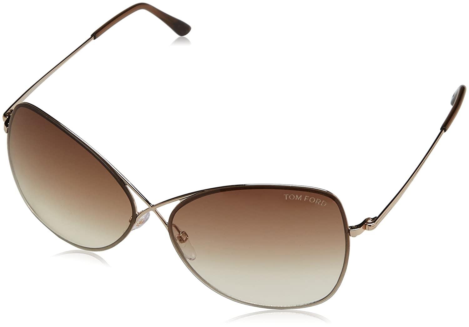 ca618fe16cbe Amazon.com  Tom Ford Sunglasses TF 250 BRONZE 48F Collete  Tom Ford   Clothing
