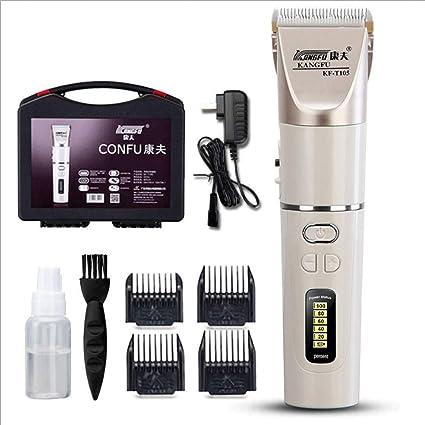 Gaoyangyang cortapelos recargables para el hogar, adultos, niños, peluquería, peluquería, peluquería, afeitadora eléctrica: Amazon.es: Belleza