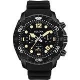 Bulova Men's 98B243 Sea King Analog Display Quartz Black Watch