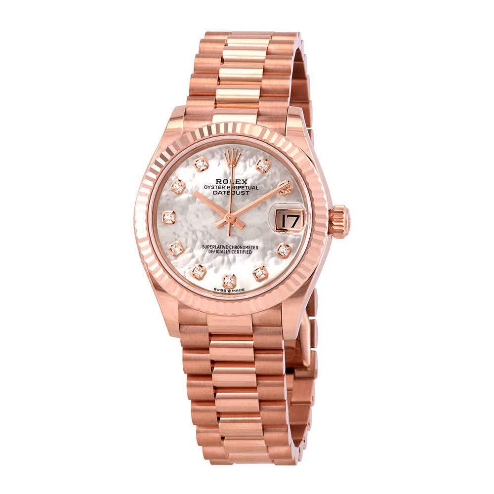 Amazon.com Rolex Datejust 31 Mother of Pearl Diamond Dial