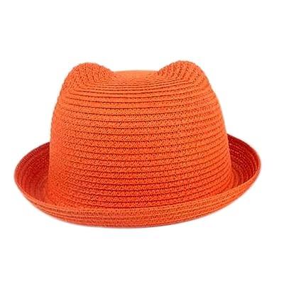 Lumanuby 1 Pcs Chapeau Hat Pêche Outdoor Solaire Plage Cherry Chapeau De Soleil Pour Bébé Enfant Fille Garçon Hat Eté