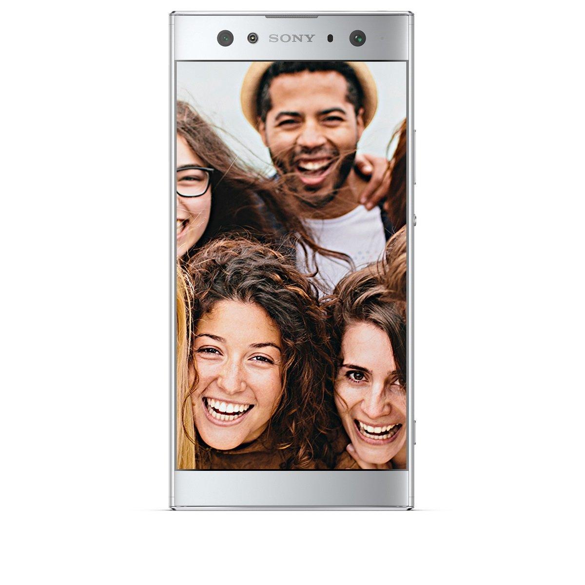 "Sony Xperia XA2 Ultra - Smartphone de 6"" FHD (Snapdragon 630, Octa Core 2.2 GHz, 4 GB de RAM, Memoria Interna de 32 GB, cámara de 23 MP, Android), Color Plata [Versión española]"